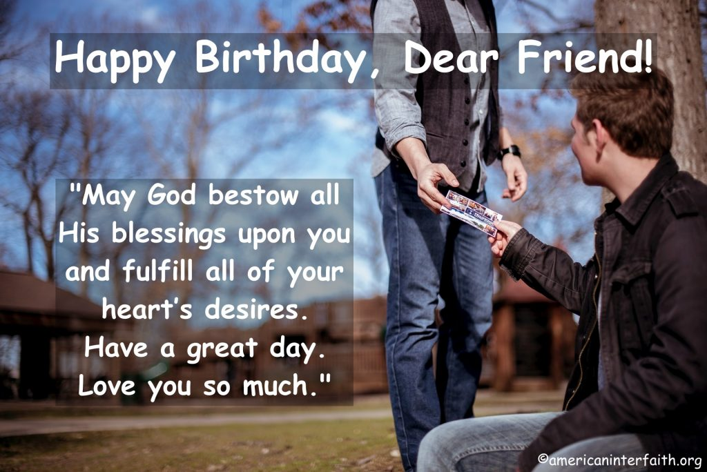 Birthday Religious Quotes For Friends