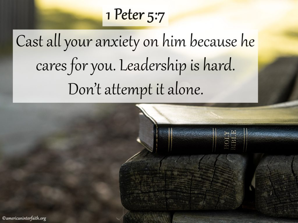 Bible Verses About Leadership in Church
