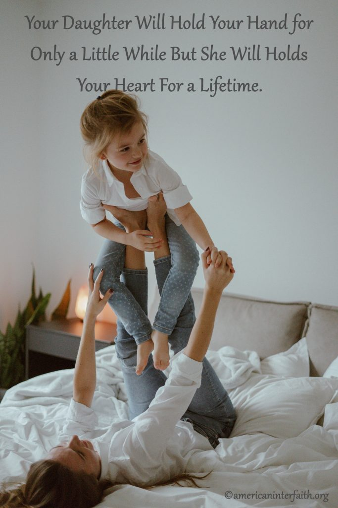 Hold My Hand Daughter Quotes